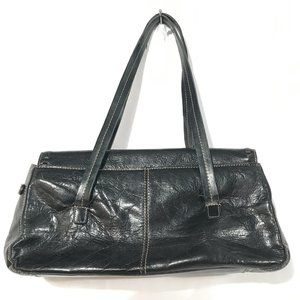 KENNETH COLE REACTION Black Hand Bag Clutch